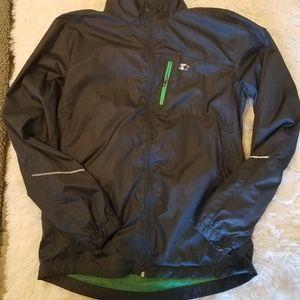 Gray Starter Windbreaker Jacket
